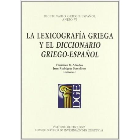 La lexicografía griega y el diccionario griego-español