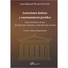 Locuciones latinas y razonamiento jurídico