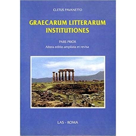 Graecarum litterarum institutiones. Pars prior