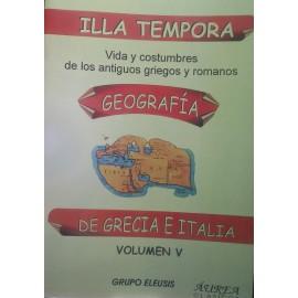 Illa Tempora. Geografía de Grecia e Italia