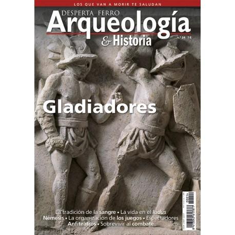 Gladiadores. Revista Desperta Ferro. Arqueología e Historia, 14