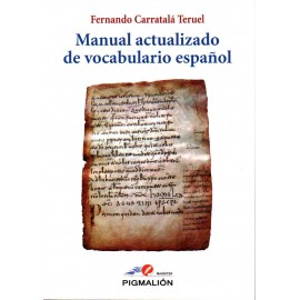 Manual actualizado de vocabulario español.