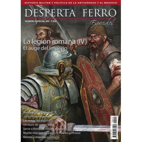 La legión romana, IV. El auge del Imperio. Revista Desperta Ferro. Especiales XIII