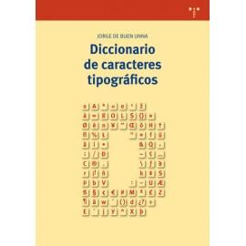 Diccionario de caracteres tipográficos