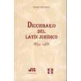 Diccionario del latín jurídico. - Imagen 1
