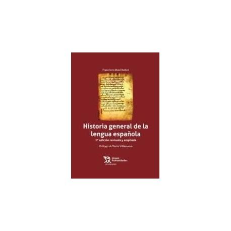 Historia general de la lengua española 2ª edición 2017