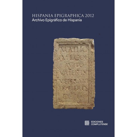 Hispania Epigraphica 2012