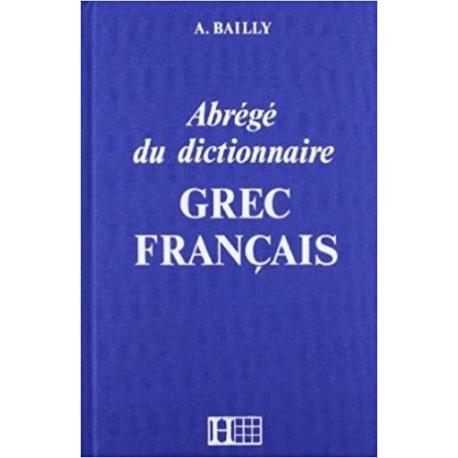 Abrégé du dictionnaire Grec- franÇais