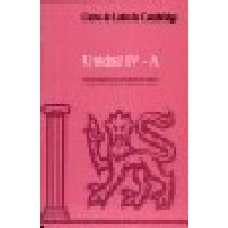 Curso de Latín de Cambridge. Unidad IV-B