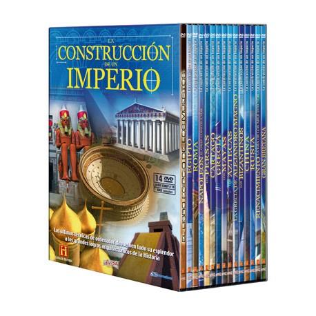 La construcción de un Imperio. 14 DVD Colección Completa