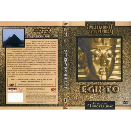 Civilizaciones Perdidas: 1 Egipto - En Busca De La Inmortalidad. DVD