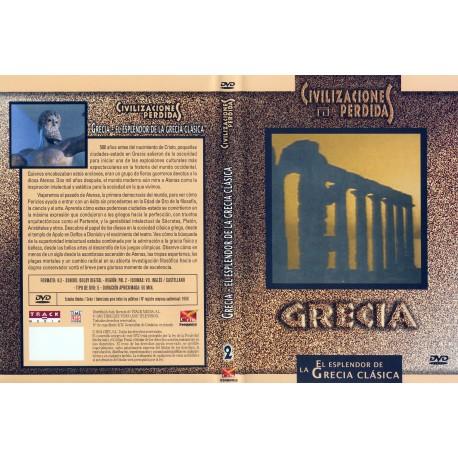Civilizaciones Perdidas.  Grecia. El esplendor de la Grecia Clásica. DVD