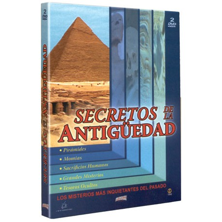 Secretos de la antigüedad. Pack con 2 DVDs