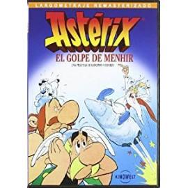 Astérix. El golpe de Menhir. Dibujos animados de Goscinny y Uderzo. DVD