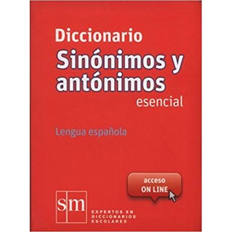 Diccionario de sinónimos y antónimos de la lengua española.  Esencial
