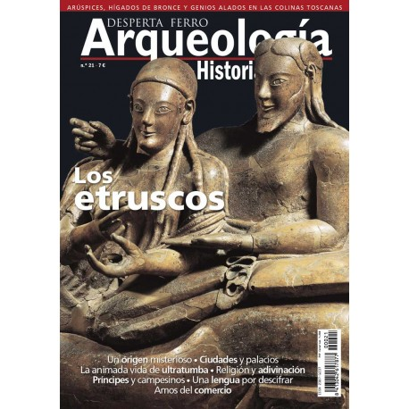 Los etruscos. Revista Desperta Ferro