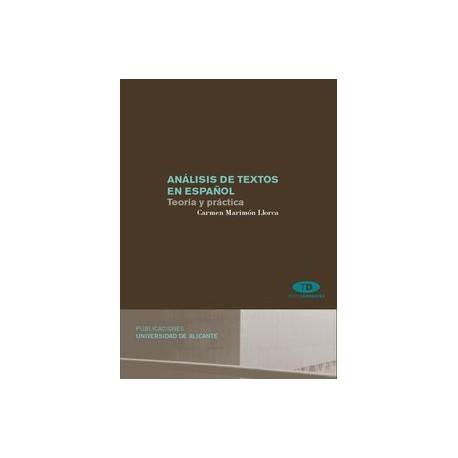 Análisis de textos en español. Teoría y práctica