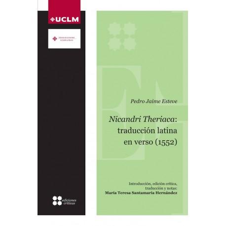 Nicandri Theriaca: traducción latina en verso