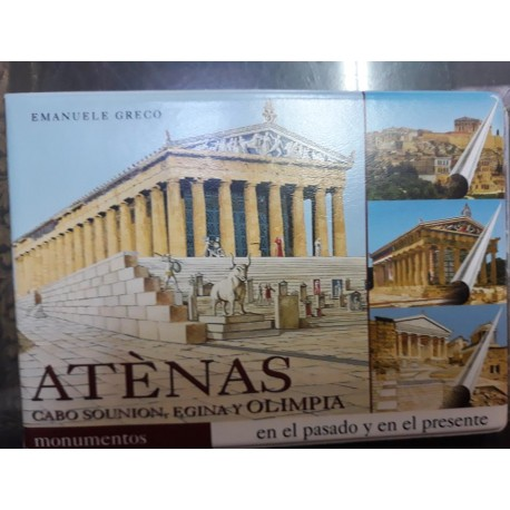 Atenas. Cabo Sounion, Egina y Olimpia. Incluye CD-DVD ROM
