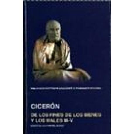De los fines de los bienes y los males III-IV. Edición bilingüe. Existencias limitadas