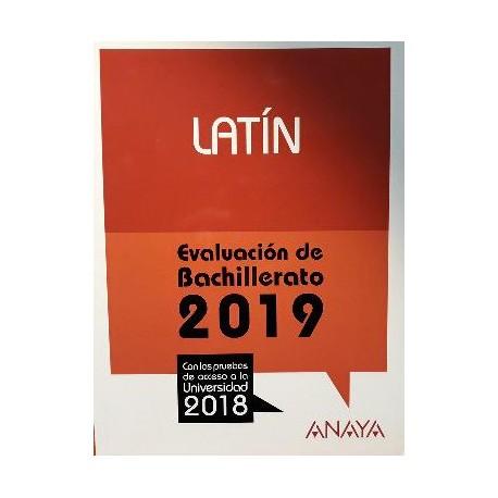 Latín. Evaluación Bachillerato 2019