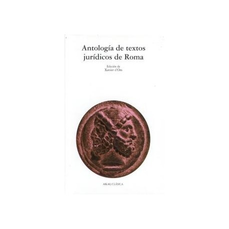 Antología de textos jurídicos de Roma