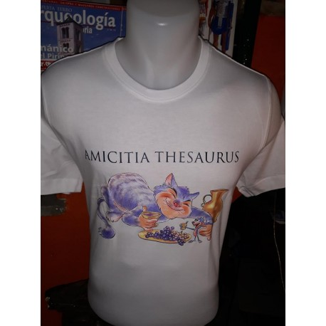 """Camiseta """"Amicita Thesaurus"""""""