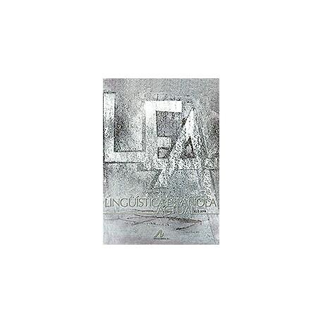Lingüística Española Actual XL/2