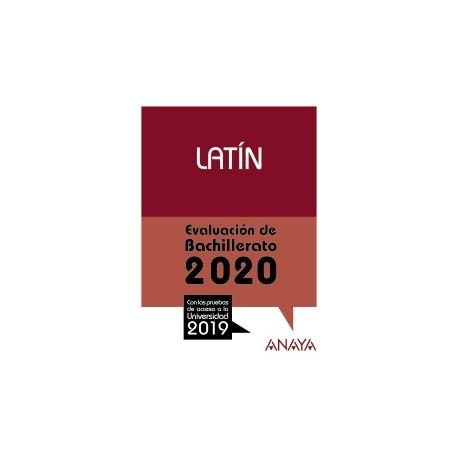 Latín. Evaluación de bachillerato 2020