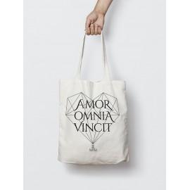 """Bolsa de tela """" Amor Omnia Vincit"""""""