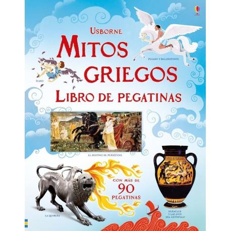 Mitos Griegos. Libros con pegatinas