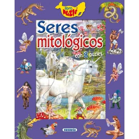 Seres mitológicos (Libro puzle)