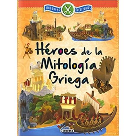 HÉROES DE LA MITOLOGIA GRIEGA. Maqueta. Recortables