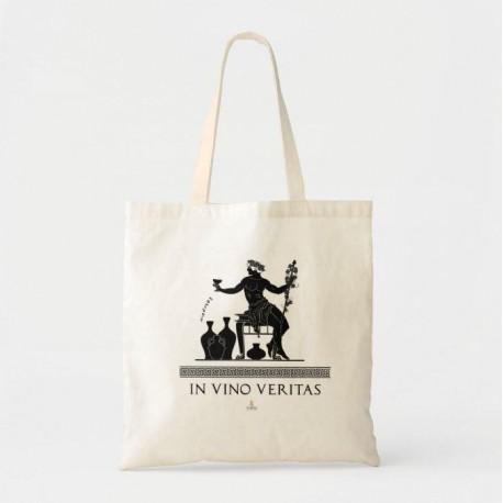 """Bolsa de tela """" In vino veritas"""""""