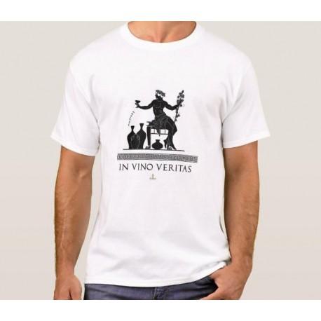 """Camiseta """"in vino veritas"""""""