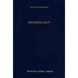 Dionisíacas IV. Cantos XXXVII-XLVIII - Imagen 1