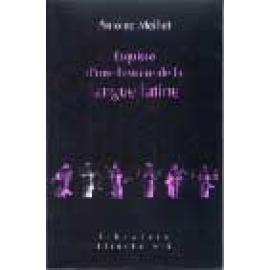 Esquisse d'une histoire de la langue latine - Imagen 1