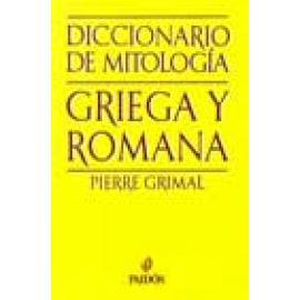 Diccionario de mitología griega y romana. - Imagen 1