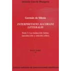 Germán de Silesia. Interpretatio Alcorani litteratis. - Imagen 1