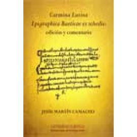 Carmina Latina Epigraphica Baeticae ex schedis: edición y comentario - Imagen 1