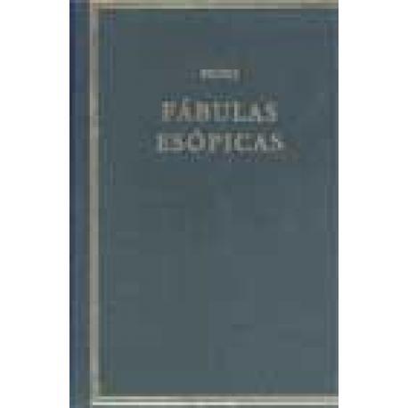 Fábulas Esópicas. Edición bilingüe