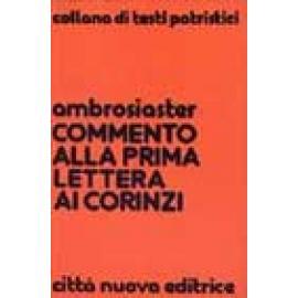 COMMENTO ALLA PRIMA LETTERA AI CORINZI - Imagen 1