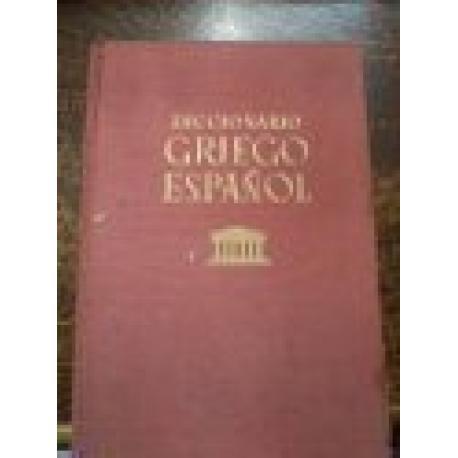 Diccionario Griego-Español.
