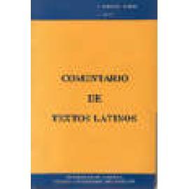 Comentario de textos latinos - Imagen 1