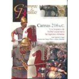 Cannas 216 a.C. Los hispanos de Aníbal masacran a las legiones romanas - Imagen 1