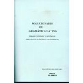 Solucionario de Gramática latina. Traducciones y sintaxis - Imagen 1