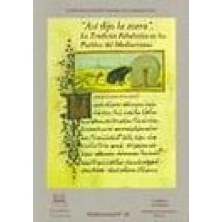"""Y ASÍ DIJO LA ZORRA"""". LA TRADICIÓN FABULÍSTICA EN LOS PUEBLOS DEL MEDITERRÁNEO"""""""