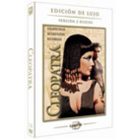 Cleopatra. DVD. Recomendada mayores de 13 años.