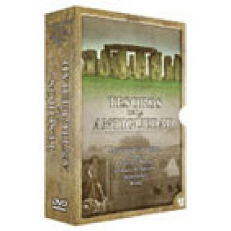 Tesoros de la antigüedad. Roma. Pompeya. El muro de Adriano. Las pirámides de Egipto. Stonehenge. Azrtecas y Mayas. 6 DVD