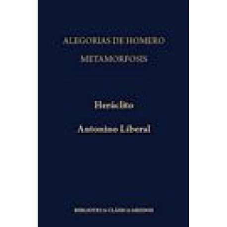 Alegorías de Homero / Metamorfosis